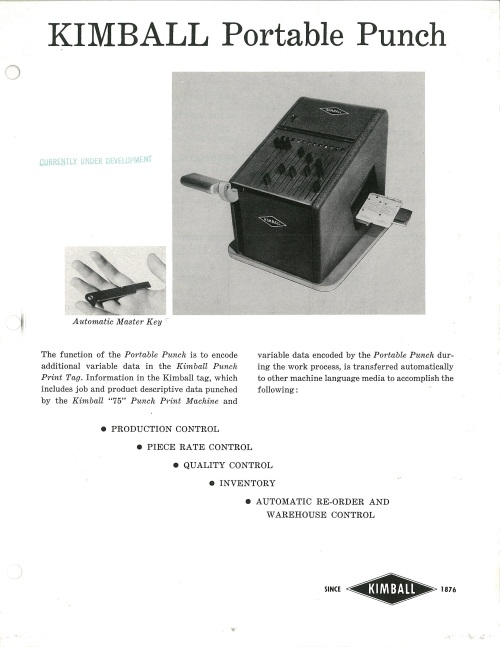 Kimball Portable Punch