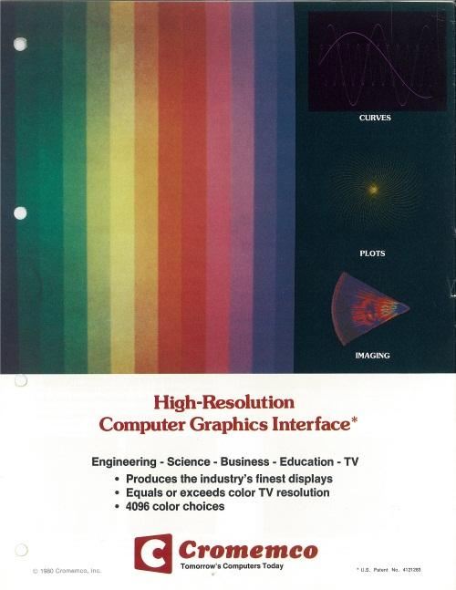 High-Resolution Computer Graphics Interface