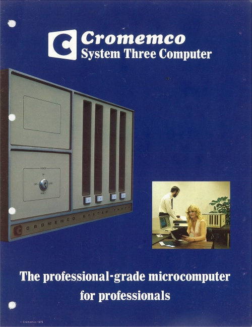 Cromemco System Three Computer