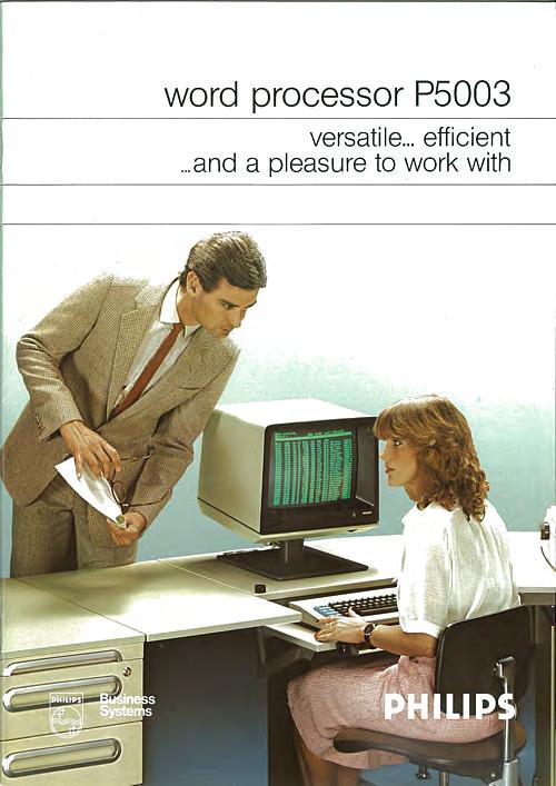 Philips Word Processor P5003