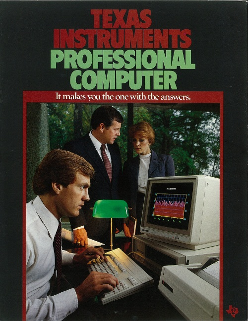 Texas Instruments Professional Computer