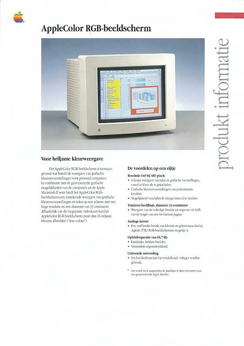 AppleColor RGB-beeldscherm