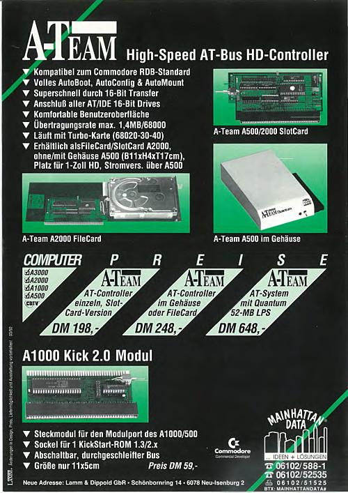 A-Team High Speed AT-Bus HD-Controller