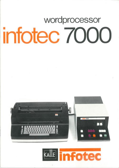 Infotec 7000 Wordprocessor